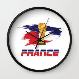 World cup France Wall Clock