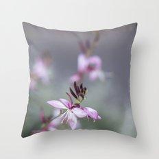 Little Pink Flower Throw Pillow
