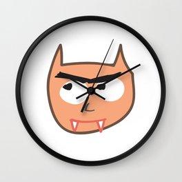 Vampire Cat Wall Clock