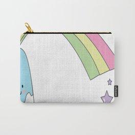 Rainbow-Ice-Cream Carry-All Pouch