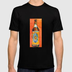 BEER ART - Oberon Ale SMALL Black Mens Fitted Tee