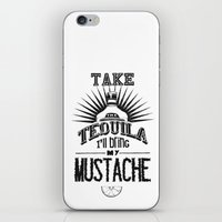 tequila iPhone & iPod Skins featuring Tequila by MrWhite