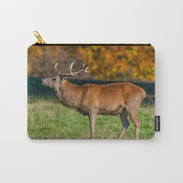 Red deer stag in autumn. Carry-All Pouch