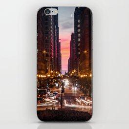 Bright Lights iPhone Skin