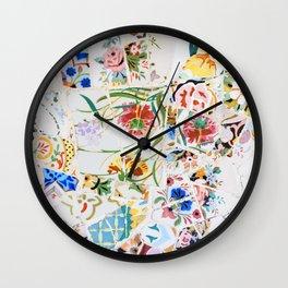 Gaudi - Park Güell Wall Clock