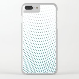 Intensive phobia: Blue Clear iPhone Case