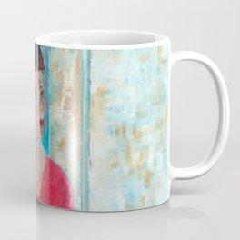 Seated Woman Coffee Mug