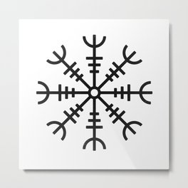 Aegishjalmur Metal Print