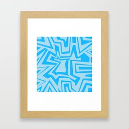 Ice - Coral Reef Series 010 Framed Art Print