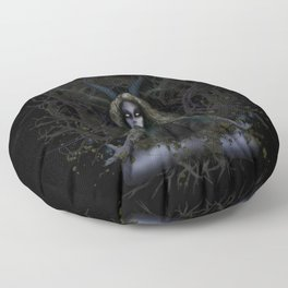 Earth Witch - Elements Collection Floor Pillow
