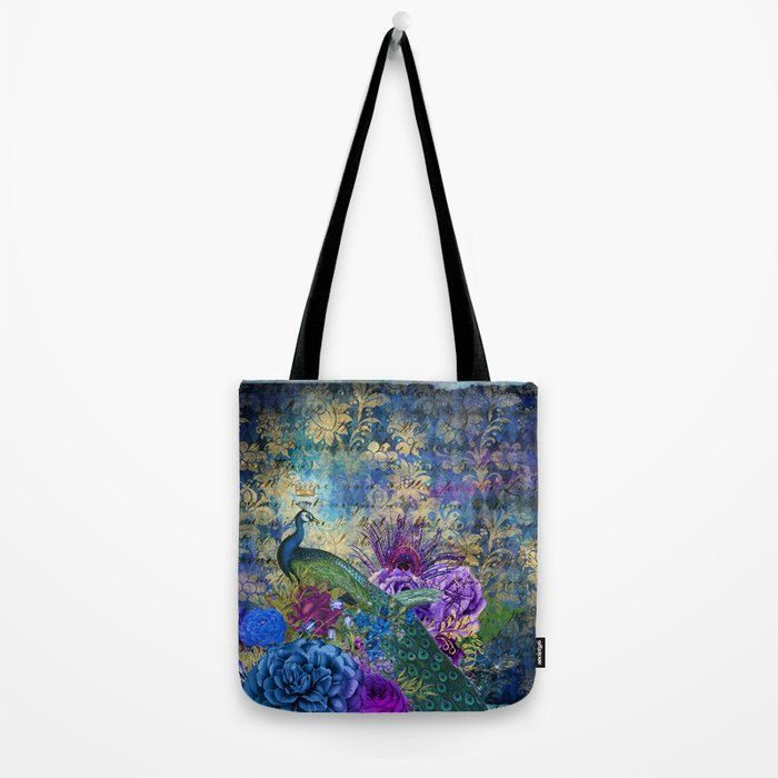 Feather Peacock 20 Tote Bag