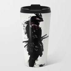 Armored Samurai Metal Travel Mug