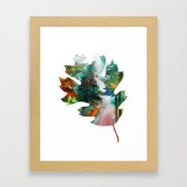 Autumn Leaf Art Framed Art Print