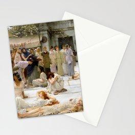 12,000pixel-500dpi - Lawrence Alma-Tadema - Women Of Amphissa - Digital Remastered Edition Stationery Cards