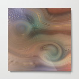 Beautiful  Pattern Design Metal Print