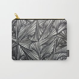 b/w zentangle Carry-All Pouch
