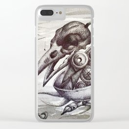 the collector Clear iPhone Case
