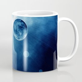BLUE MOON FLARES Coffee Mug