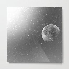 Dandelion Moon  Metal Print