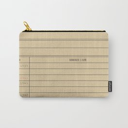 Library card Carry-All Pouch