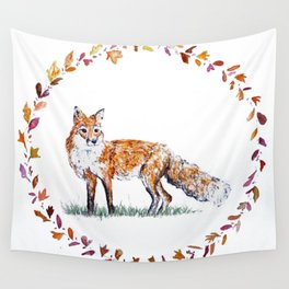 Autumn traveller Wall Tapestry