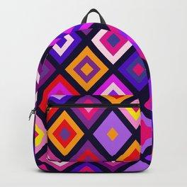 Dazzling Harlequins - Pattern Backpack