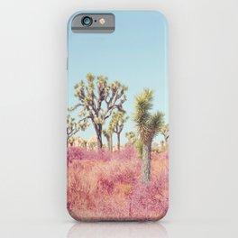 Surreal Desert - Joshua Tree Landscape Photography iPhone Case