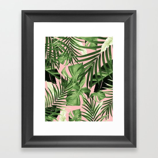 Tropical Jungle Leaves Pattern #11 #tropical #decor #art #society6 by anitabellajantz