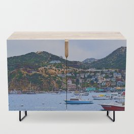 """Catalina Harbor""/ ""Time"" Credenza"