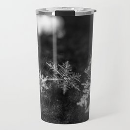 Clump of snowflakes Travel Mug