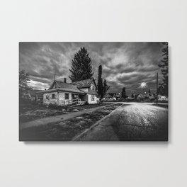 Old house in Spokane Metal Print