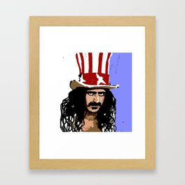 Zappa Framed Art Print