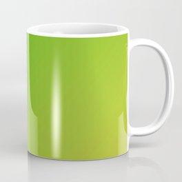 Green grass gradient color Coffee Mug