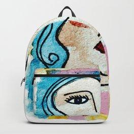 retratos pastel Backpack