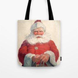 Classic Santa Claus Tote Bag