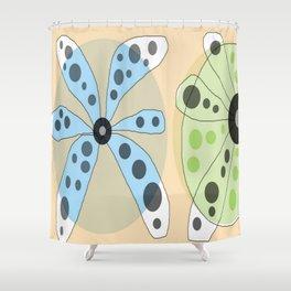 FLOWERY KATE / ORIGINAL DANISH DESIGN bykazandholly Shower Curtain