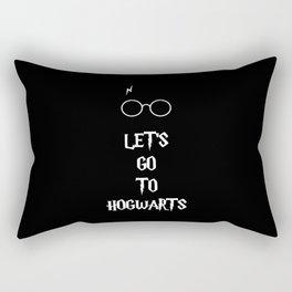 Go to Hogwarts Rectangular Pillow