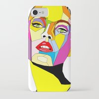 model iPhone & iPod Cases featuring Model by Floridana Oana