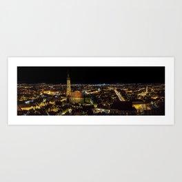 City Landshut   Germany Art Print