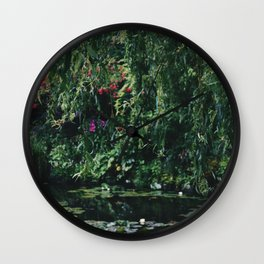 Under the Willow Tree Wall Clock