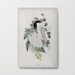 Floral portrait ... Metal Print