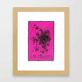 Los Frijoles  Framed Art Print