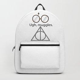Ugh, muggles. Backpack