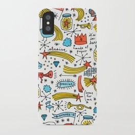chasing stars and putting them in jars iPhone Case