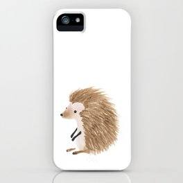 Hedgehog Baby iPhone Case