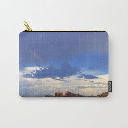 Hint of a Rainbow over Sedona by Reay of Light Carry-All Pouch