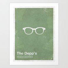 Framework - The Depp's Art Print