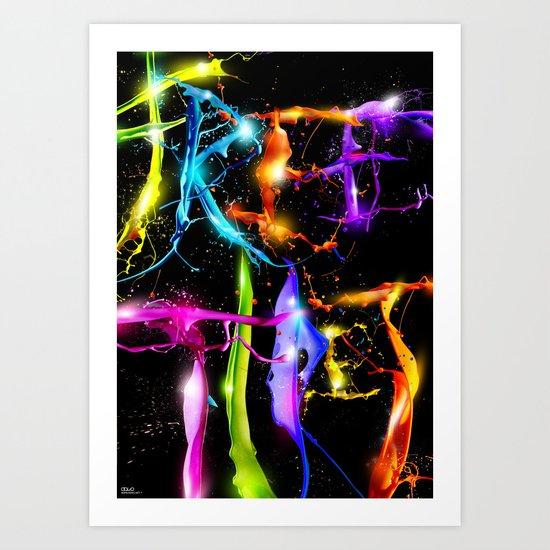 Free Tibet Art Print