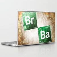 chemistry Laptop & iPad Skins featuring BrBa chemistry by Nxolab