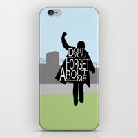 the breakfast club iPhone & iPod Skins featuring The Breakfast Club by Hugh & West